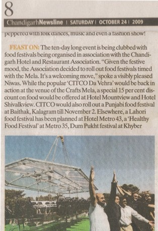 24 oCT 09 - Chandigarh Newsline